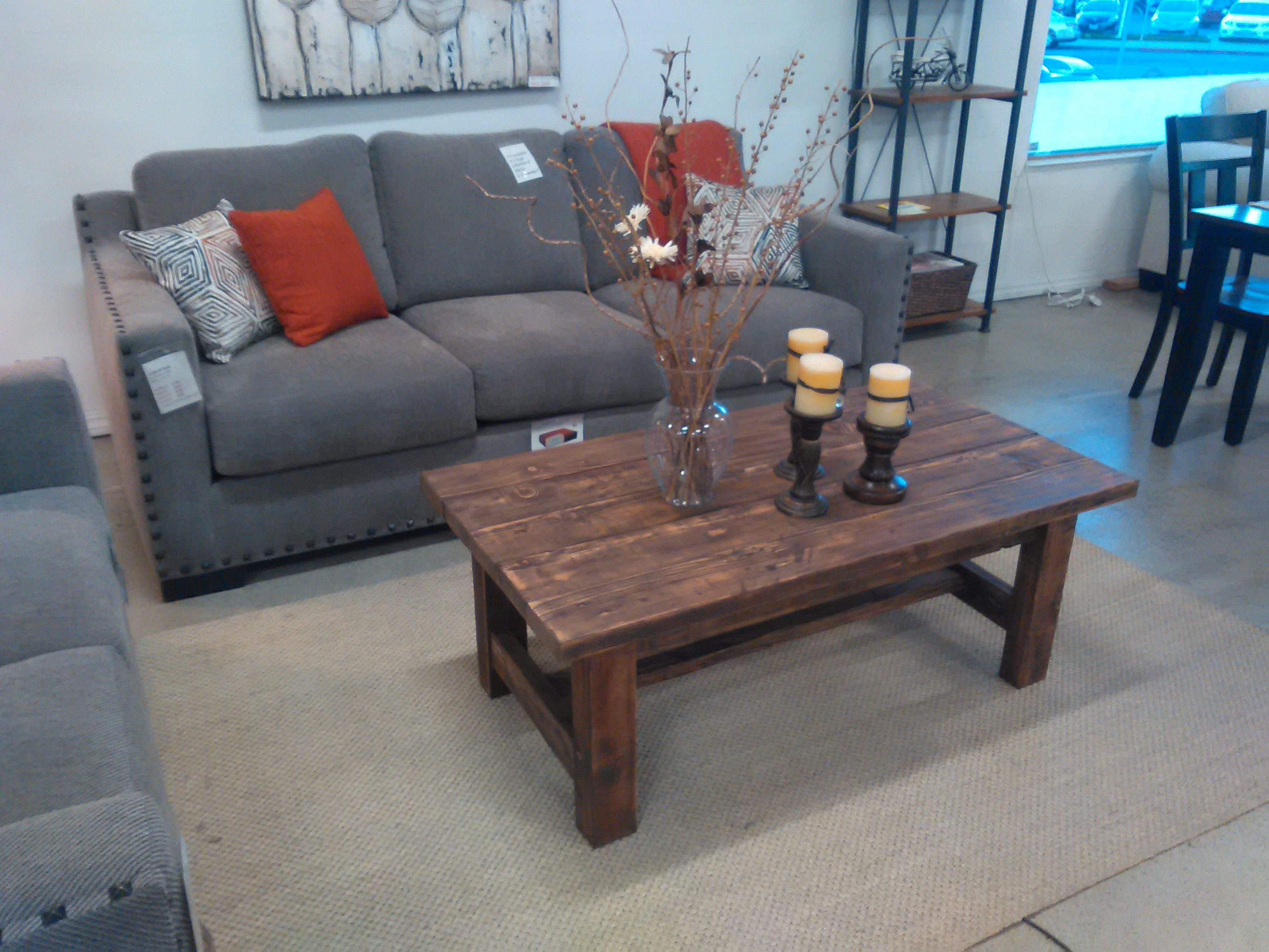 e of a kind reclaimed solid wood coffee table $349 – Furniture